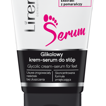 Glikolowy krem-serum do stóp